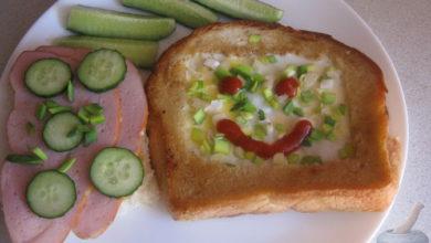 Photo of Бутерброды «Завтрак для холостяка»